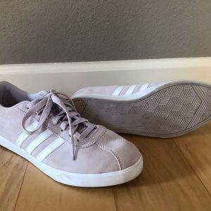 Adidas Suede Courtset in blush pink